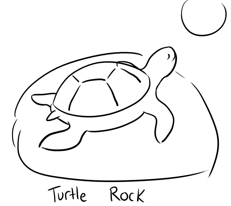 Easy cute turtle drawings - photo#10